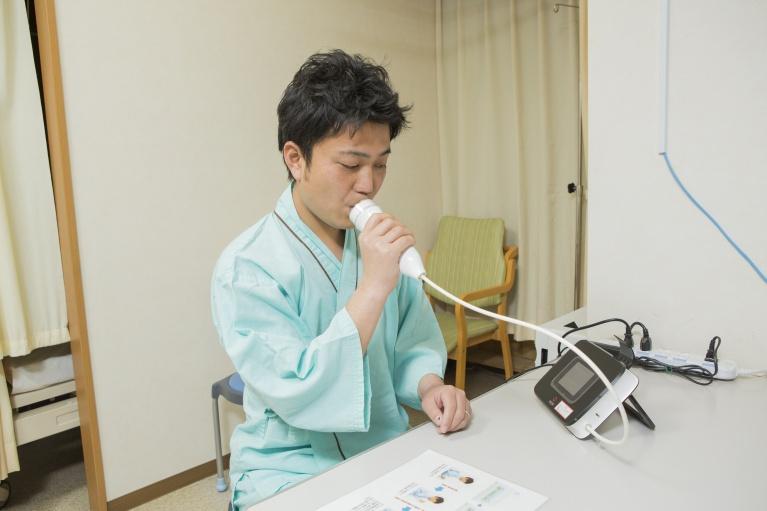 呼気一酸化窒素濃度測定について