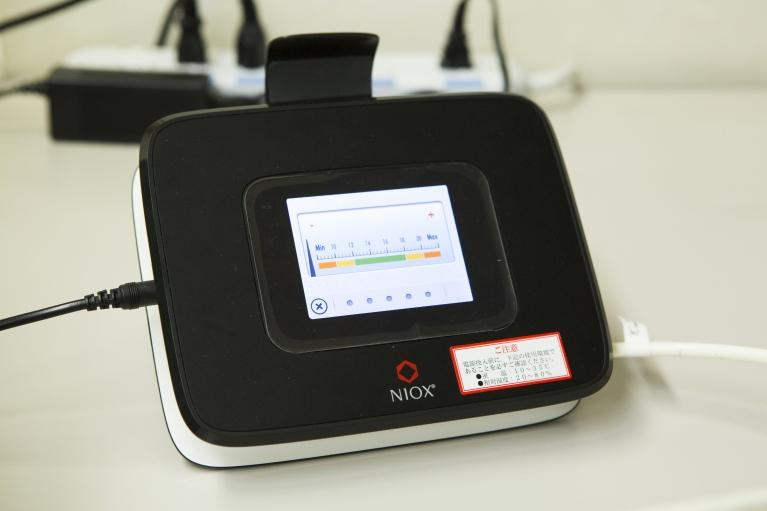 呼気一酸化窒素濃度測定