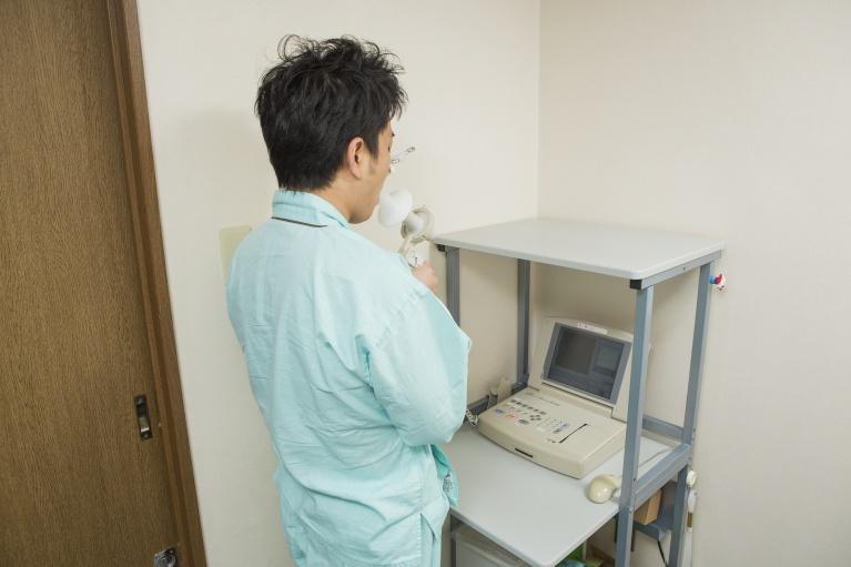 簡易肺機能検査について
